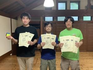 左から伊藤さん、榊原さん、上野さん。キューブキャンプ・イン・金沢の会場(石川県金沢市)にて撮影